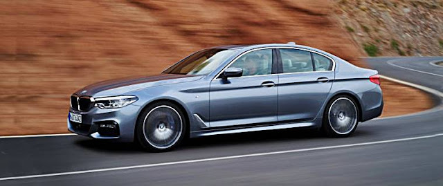 2017 BMW G30 5 Series Exterior and Interior Design
