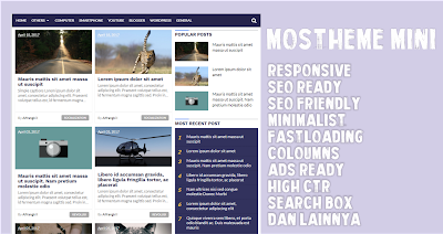 Mostheme Blogger Template , Responsive , Free Download And High CTR