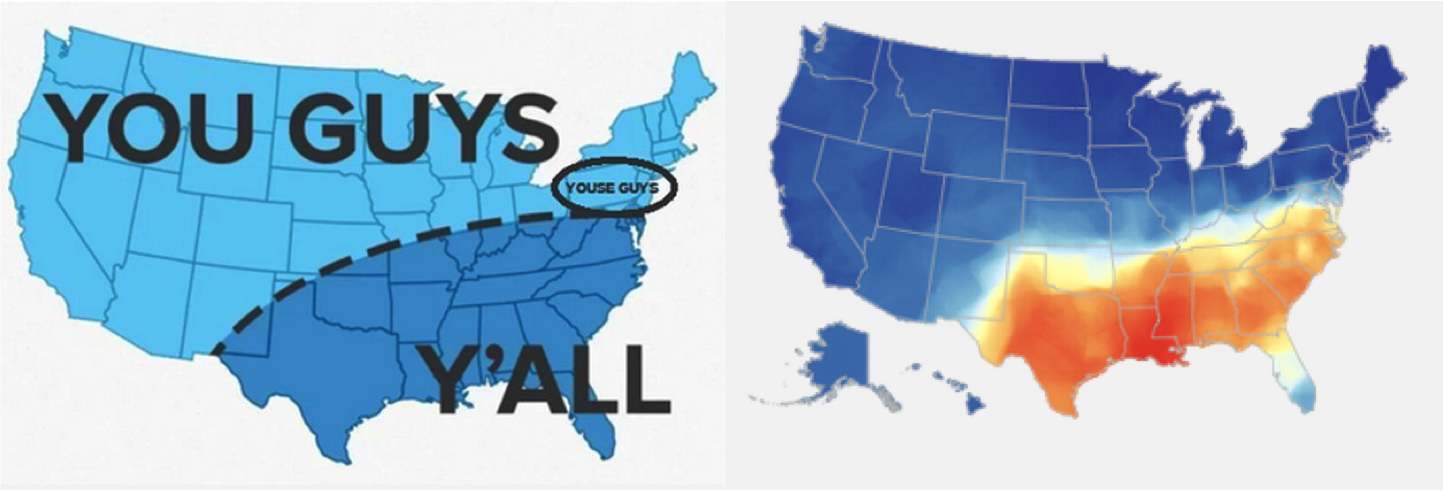 Y All Home Decor: Floatingsheep: Hey Y'all! Geographies Of A Colloquialism