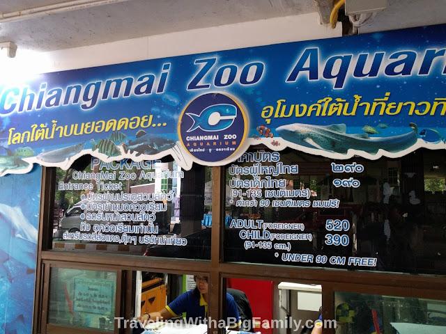Farang tax visiting Chiang Mai Zoo with a Big Family