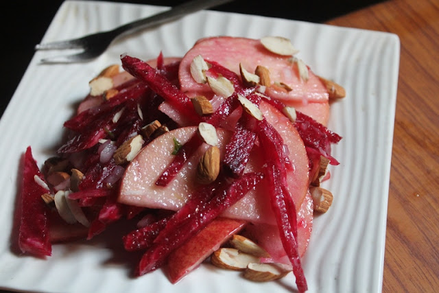 Apple Beetroot Salad Recipe