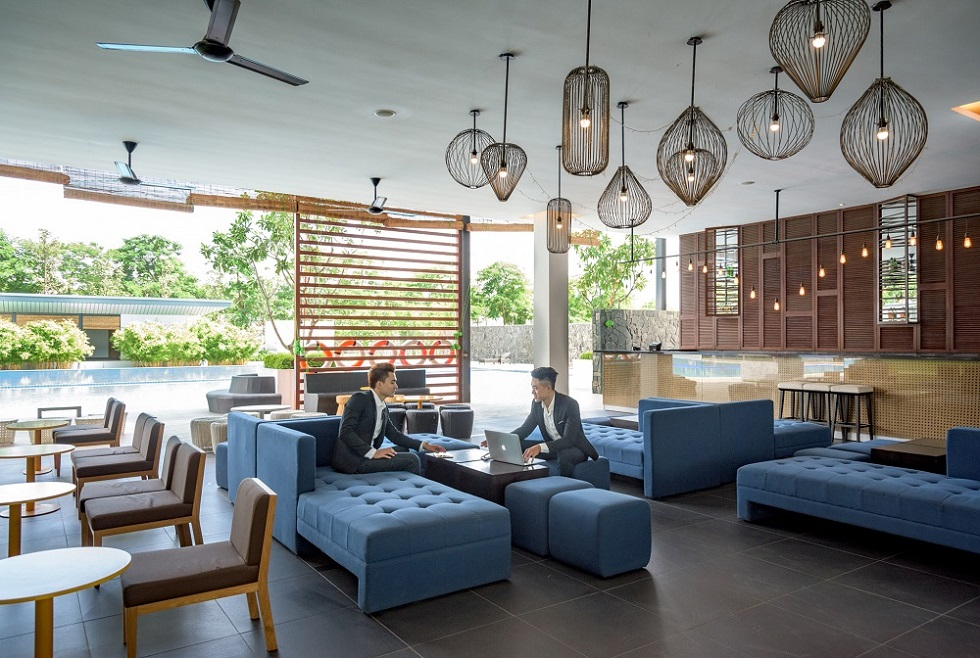 Không gian khu Nhà hàng trong dự án Gamuda Gardens