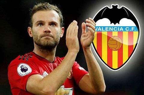 Có thể Valencia sẽ là sự lựa chọn của Juan Mata