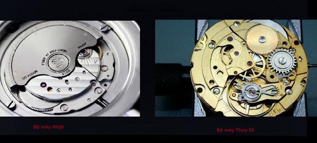 Có nên mua đồng hồ Thụy Sỹ máy Nhật