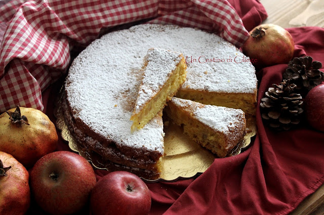 torta soffice alle mele senza burro e senza olio