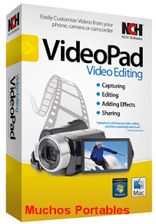 NCH VideoPad Video Editor Professional Portable
