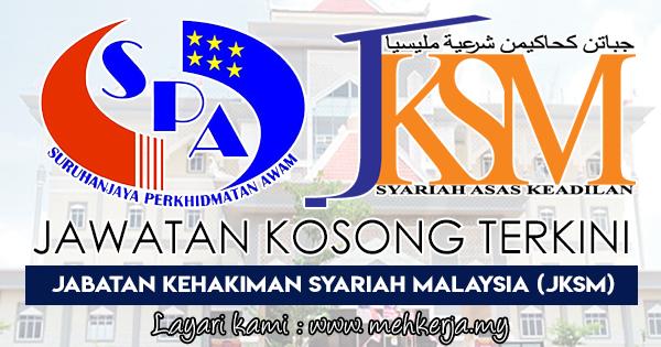 Jawatan Kosong Terkini di Jabatan Kehakiman Syariah Malaysia (JKSM)