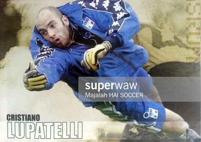 Pin up Cristiano Lupatelli (Italia 2000)