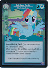 My Little Pony Rainbow Dash, Flier Extraordinaire Premiere CCG Card