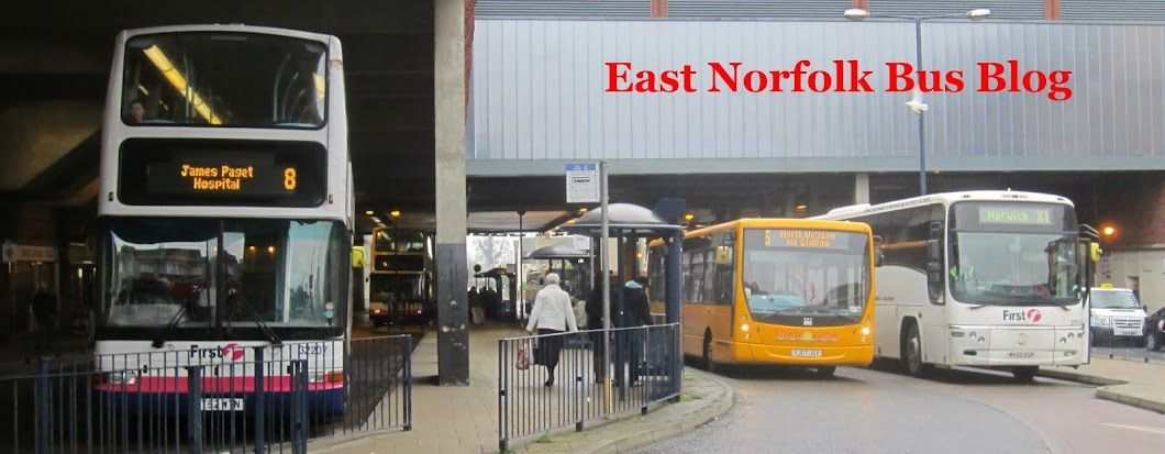 East Norfolk (and East Suffolk!) Bus Blog