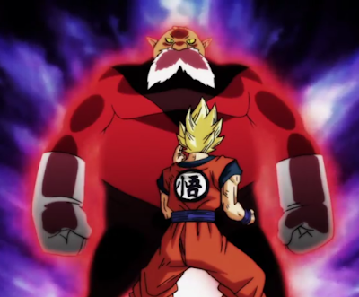 Toppo VS Son Goku