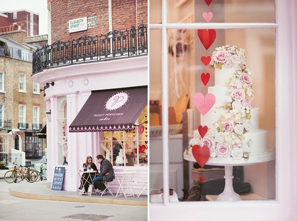 David Jenkins Photography of Peggy Porschen Cakes Parlour in London