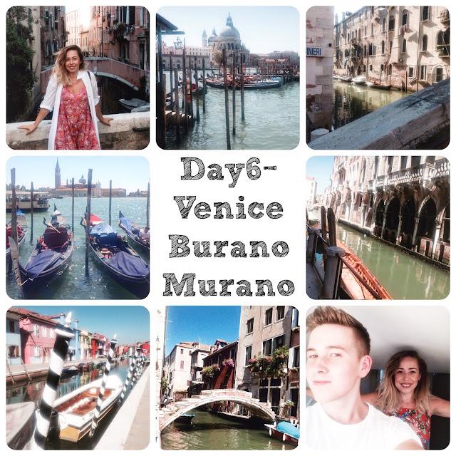 Italian roadtrip, Interrail Italy, Italy, Italia, Venice, Venezia, Venetia, Gondola, Water world, Ventian canals, Murano Island, Burnao island, Lagoo