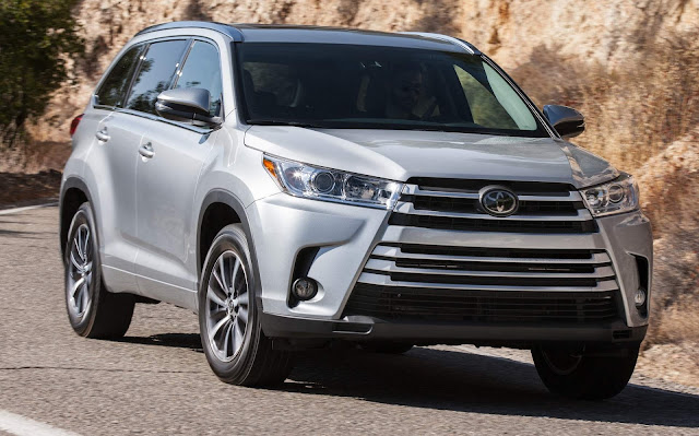 Toyota Highlander x VW Atlas - Prices