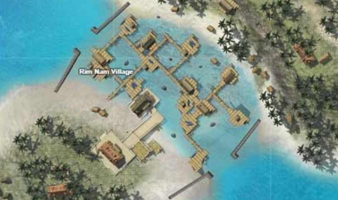 Lokasi Loot Terbaik di Game Free Fire - Rim Nam Village