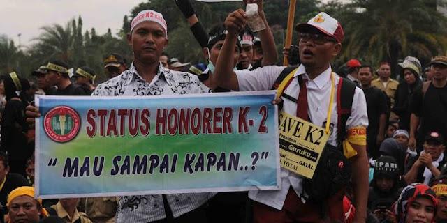 Honorer K2: Kami Hanya Tagih Janji Pemerinta, Apa Salah??