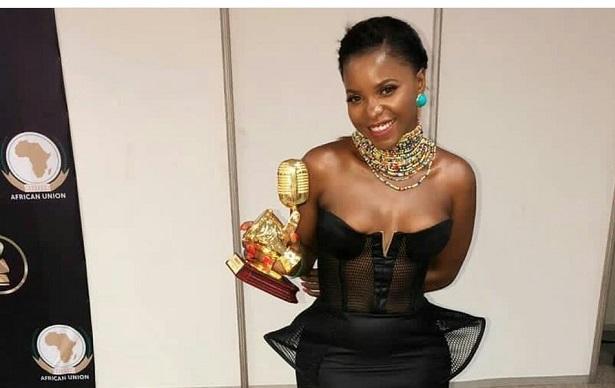 AFRIMA 2018: Daphne a remporté le trophée de la meilleure chanteuse en Afrique centrale
