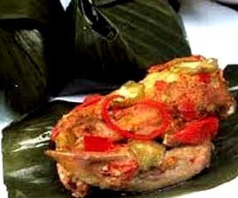 Foto Sayap Ayam Kukus Asam Alias Pepes Sayap Ayam