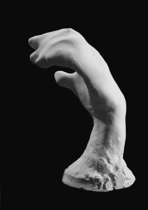 Edith Lafay  sculpture petite main gauche
