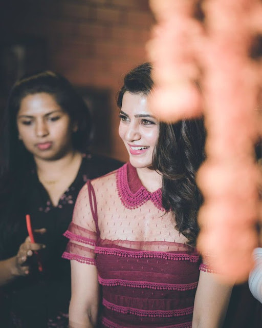 Actress Samantha at TGrill Restaurant Launch
