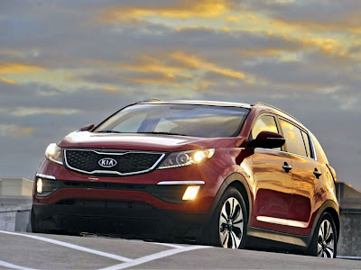 KIA Sportage SX Standard Resolution HD Wallpaper