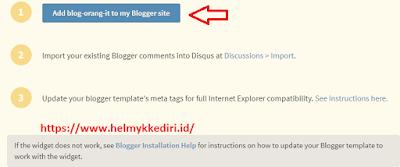 komentar disqus dibloggerc