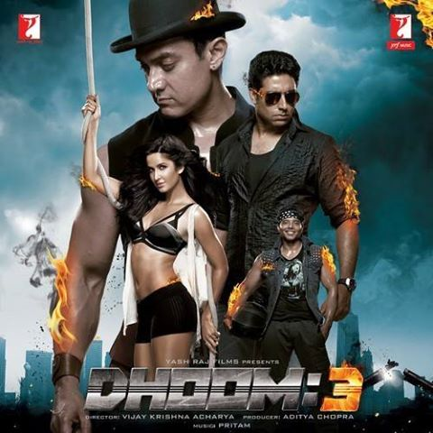 Abhishek Bachchan, Aamir Khan, Abhishek, Katrina Kaif Dhoom 3 4th Biggest Film of 2013 in bollywood Box Office Collectons
