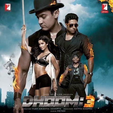 Abhishek Bachchan, Aamir Khan, Abhishek, Katrina Kaif Dhoom 3 4th Biggest Film of 2013 in bollywood Box Office Collectons