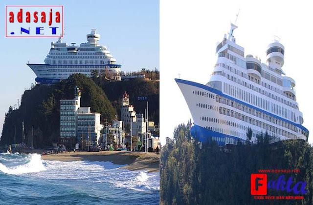 Sun Cruise Hotel hotel dengan bentuk paling unik dan paling aneh di dunia