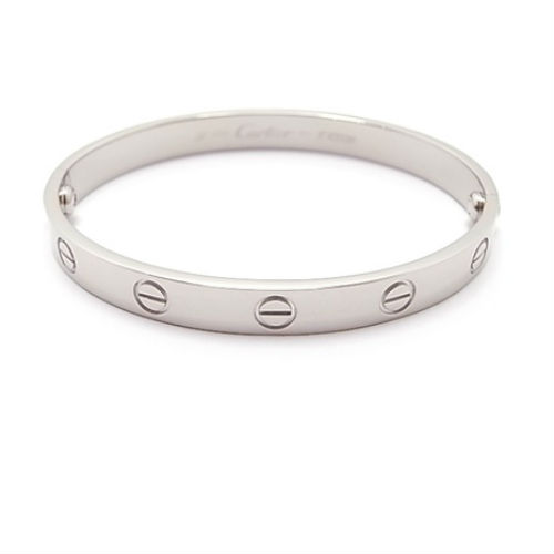 Cartier Love Bracelet White Gold2