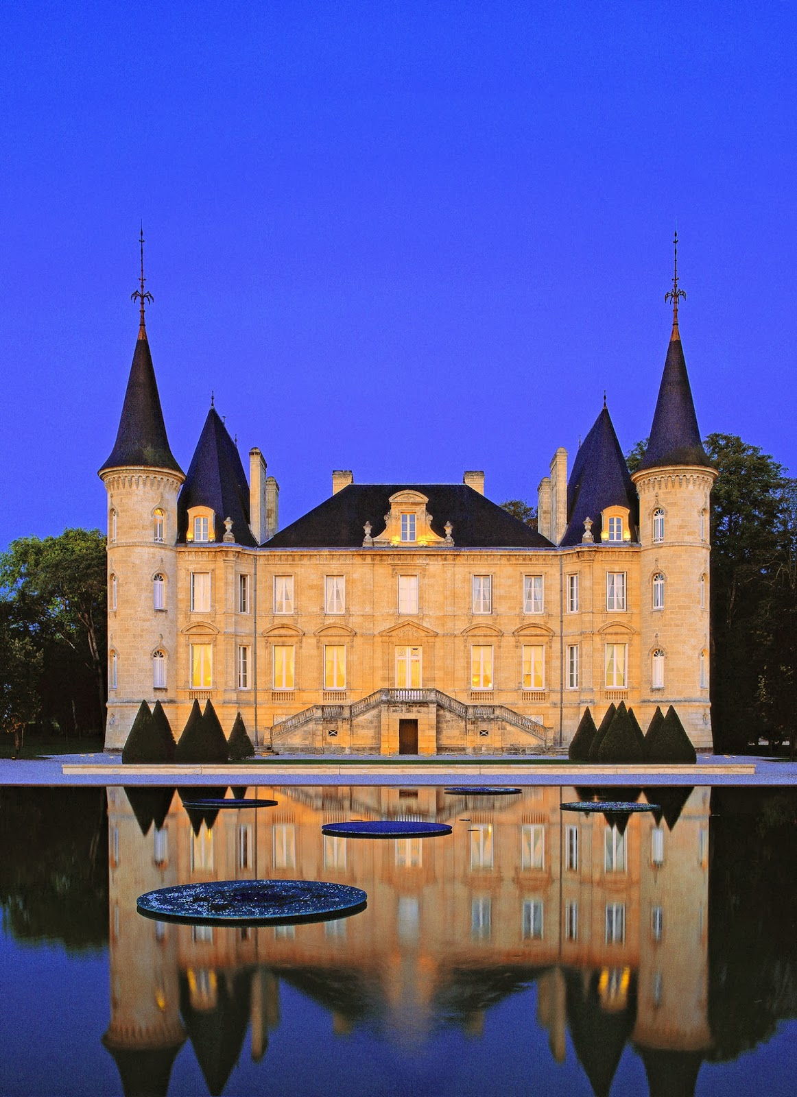 The Chateau Pichon Longueville in Bordeaux, France, is just one of many you'll experience on Viking River Cruises' newest itinerary, 'Châteaux, Rivers and Wine' debuting in March 2014. Photo: Property of Viking River Cruises. Unauthorized use is prohibited.