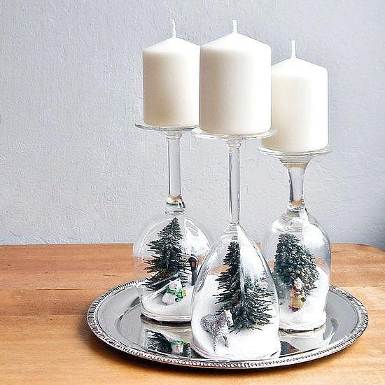 12 Centros de mesa para Navidad Ms Chicos