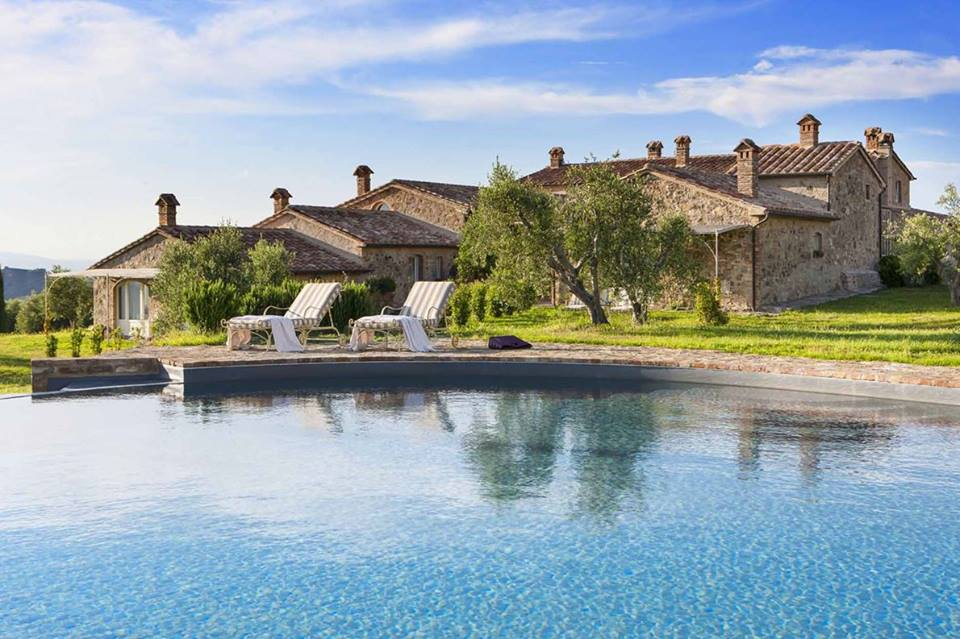 A rustic-chic boutique hotel in Tuscany