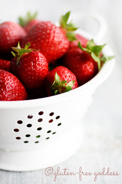 Gluten-free strawberry recipes!