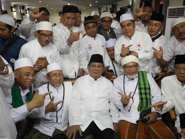 Mahfudz Syaubari Dukung Prabowo Subianto dengan Syi'ir Kebangsaan