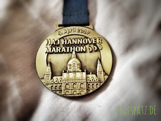 HAJ Hannover Marathon 2017 Medaille