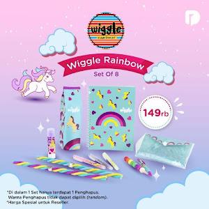 Wiggle Rainbow Set of 8