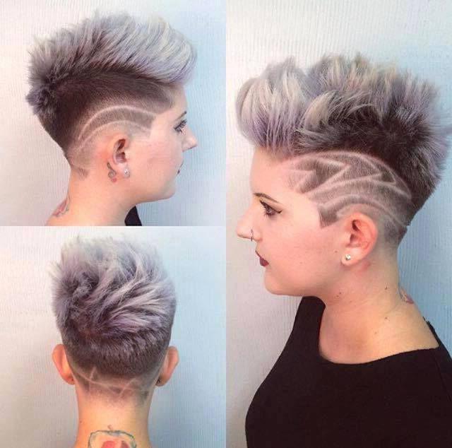 unusual undercut hairstyles