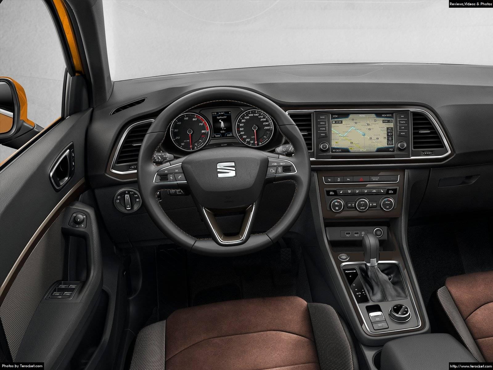 Hình ảnh xe ô tô Seat Ateca 2017 & nội ngoại thất
