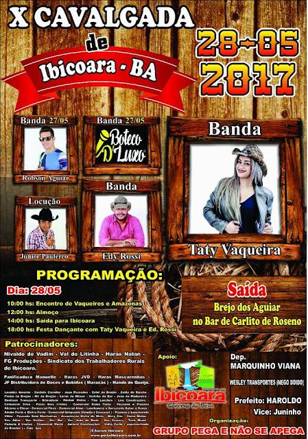 X Cavalgada de Ibicoara - Bahia
