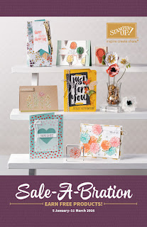 Stampin' Up! Sale-A_Bration Catalogue 2016