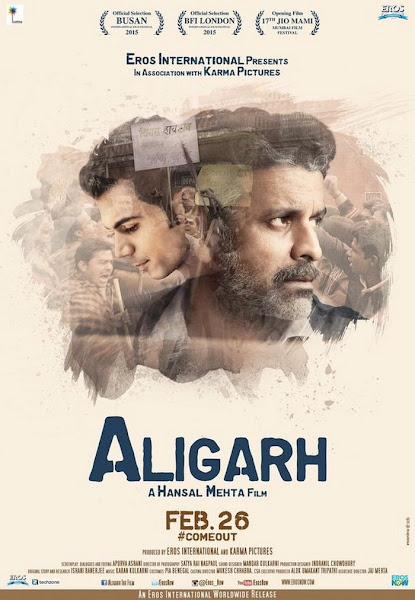 Poster Of Aligarh 2015 720p Hindi DVDRip Full Movie Download