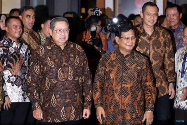 SBY Siap Turun Gunung, Demokrat Tak Ingin Prabowo Kalah dari Jokowi