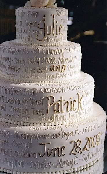 names of wedding cakes personalizing your wedding cake things festive weddings 17701