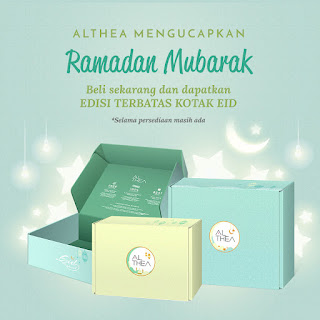 Althea Raya Festive Goodies: Limited Edition Althea Raya Box dan Raya Giveaway Festival