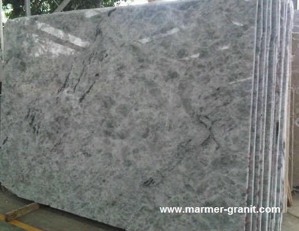 Marmer Crystal Blue Marble Slabs Marble Granite
