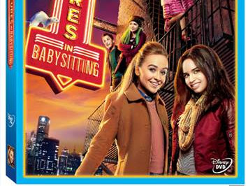 Disney Adventures In Babysitting DVD Review & Giveaway