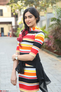 Adha Sharma in a Cute Colorful Jumpsuit Styled By Manasi Aggarwal Promoting movie Commando 2 (31).JPG