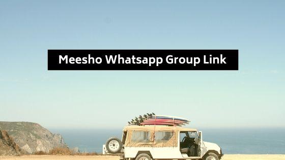 Meesho Whatsapp Group Link