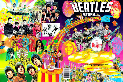 Marvel Comics, the Beatles Story